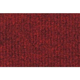 Rips Teppich Standard dunkelrot