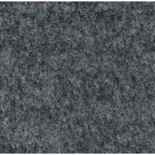 Velours Teppich graugescheckt