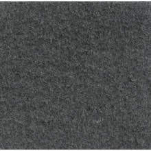 Velours Teppich dunkelgrau