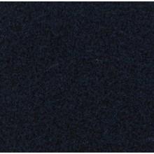 Velours Teppich dunkelblau