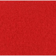 Velours Teppich rot