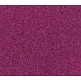 Flachfilz Teppich magenta