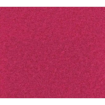 Flachfilz Teppich himbeer