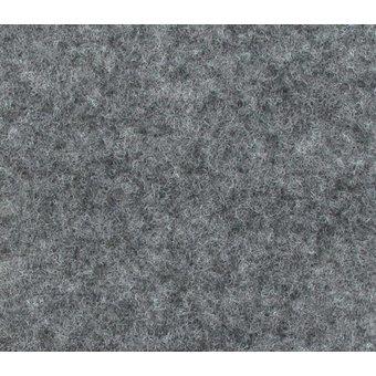 Flachfilz Teppich grau