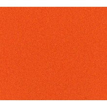 Flachfilz Teppich orange