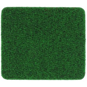 Rasenteppich Velours moosgrün, 2 m