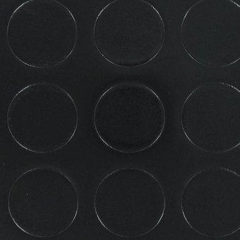 PVC Noppe schwarz