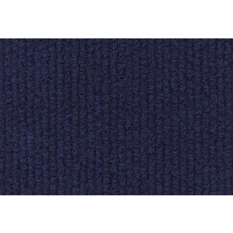Rips Teppich Standard marineblau