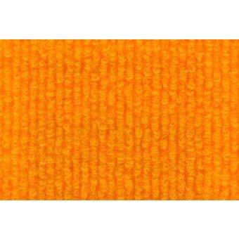 Rips Teppich Standard orangegelb