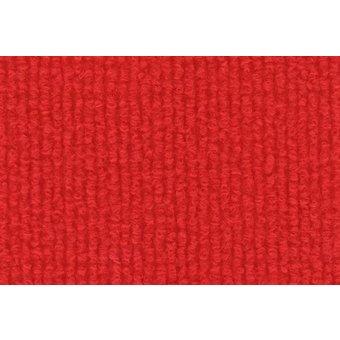 Rips Teppich Standard ziegelrot