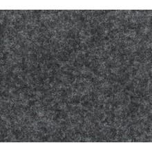 Flachfilz Teppich anthrazit