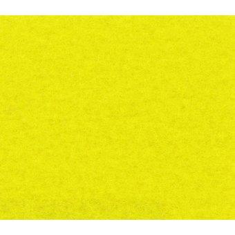 Flachfilz Teppich gelb