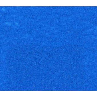 Flachfilz Teppich himmelblau