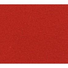 Flachfilz Teppich karminrot