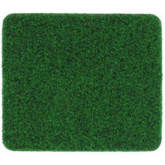Rasenteppich Velours moosgrün, 4 m