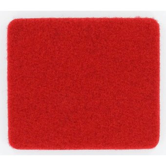 Rasenteppich Velours rot, 4 m
