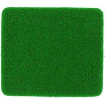 Rasenteppich Velours dunkelgrün, 4 m