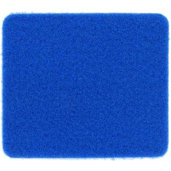 Rasenteppich Velours blau, 4 m