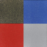 glitzernder Teppich in verschieden Farben