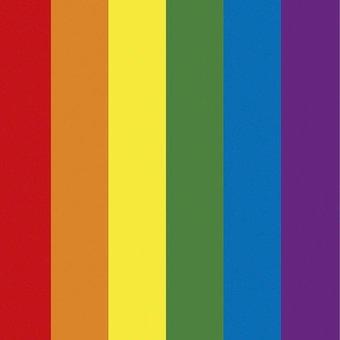 Motivteppich Regenbogen