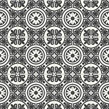 Mosaikfliesen Schwarzweiß