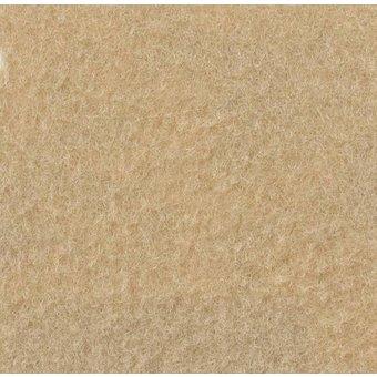 Velours Teppich beige