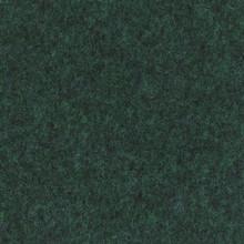 Flachfilz Teppich dunkelgrün