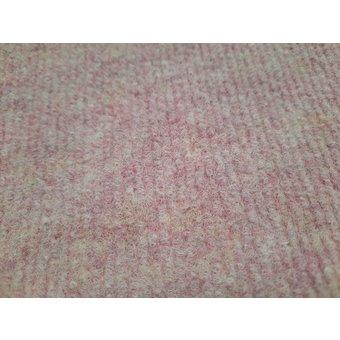 Teppichfliese 50 x 50 cm rosa, Neuware