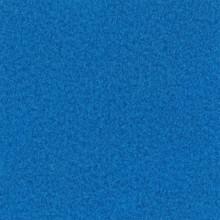 Velours Teppich saphirblau