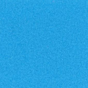 Velours Teppich azurblau