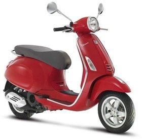 Vespa Primavera 50 4T red