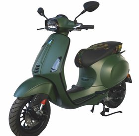 Vespa Vespa Sprint 4T Custom Mat Green