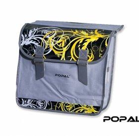 Popal Fietstas K1 Barok Geel/ Zwart