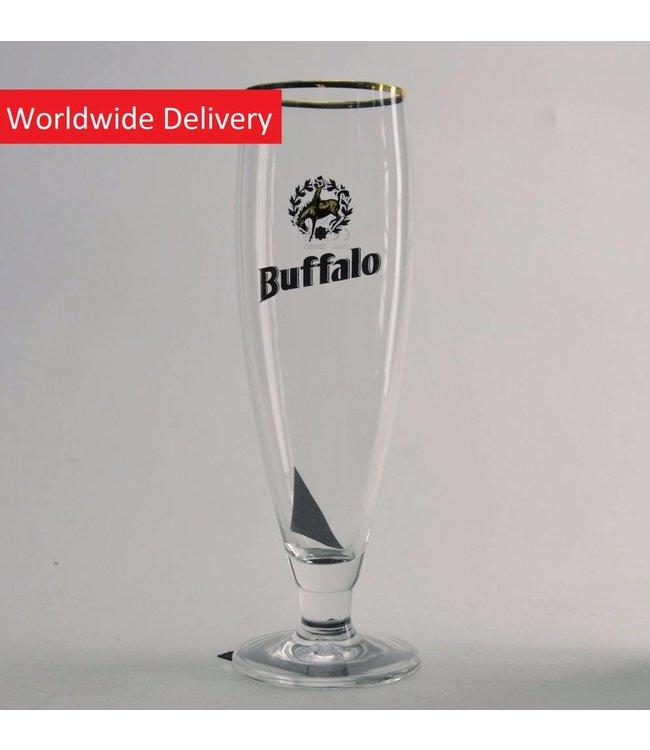 GLAS l-------l Buffalo Bierglas - 33cl
