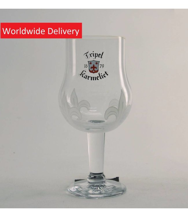 GLAS l-------l Tripel Karmeliet Tasting Bierglas - 25cl