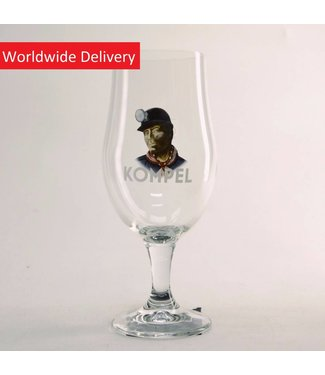 GLAS l-------l Kompel Beer Glass - 33cl