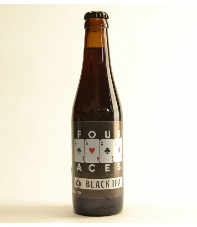 Four Aces Black IPA - 33cl