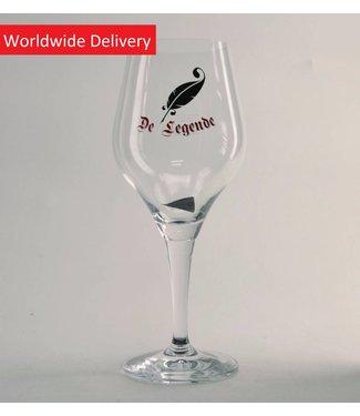 GLAS l-------l De Legende Beer Glass - 33cl