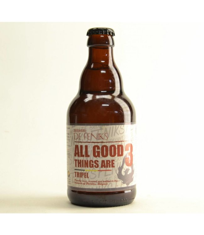 De Feniks All Good Things Are Tripel - 33cl