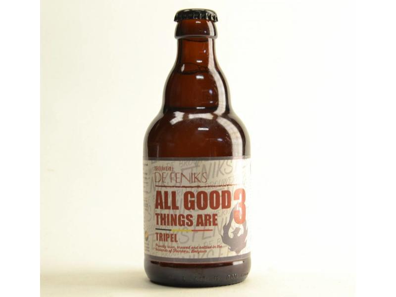 A4 De Feniks All Good Things Are Tripel - 33cl