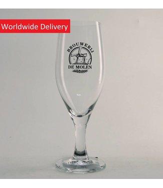 GLAS l-------l Brouwerij de Molen Bierglas - 25cl