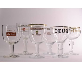 Trappist Beer Glass Box