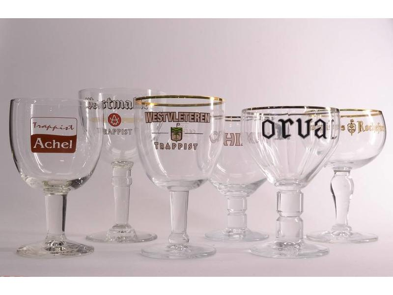 Mag GLAZENBOX // Trappist Beer Glass Box
