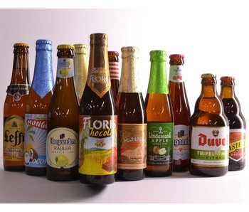 Top 12 Sweet and Fruity Beer Box
