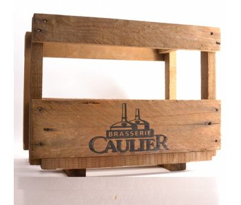 Caulier Wooden Beer Crate