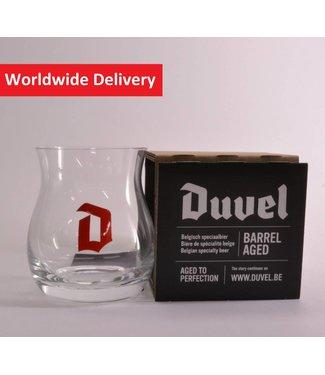 GLAS l-------l Duvel Barrel Aged Beer Glass