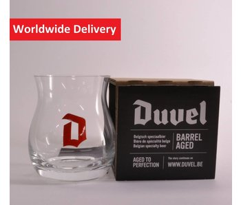 Duvel Barrel Aged Beer Glass