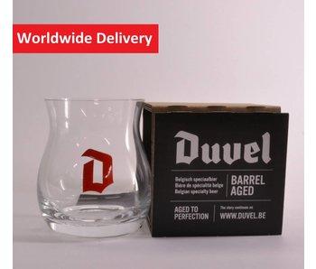 Duvel Barrel Aged Beer Glass