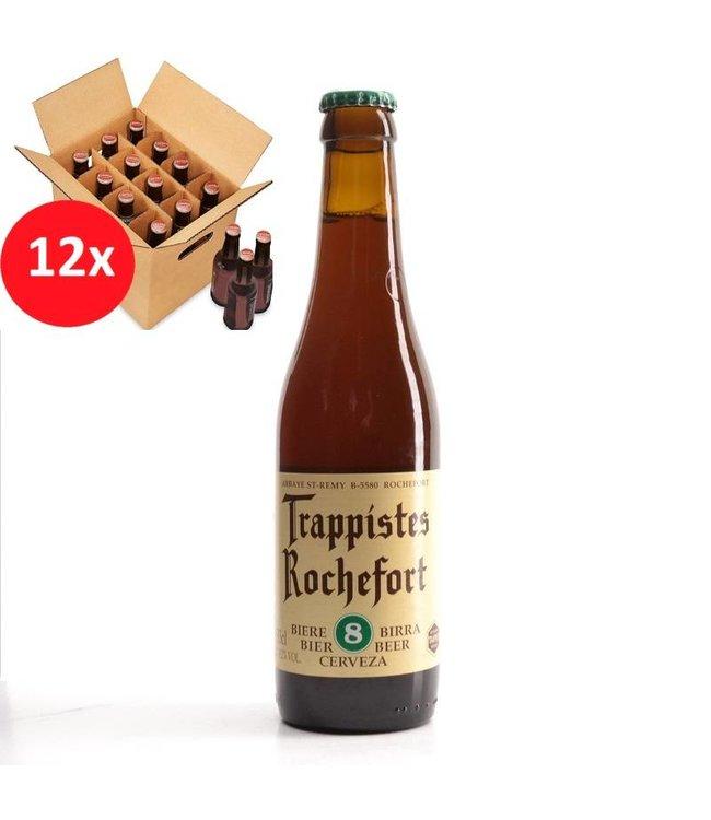 SET VAN 12    l-------l Trappistes Rochefort 8 12 Pack