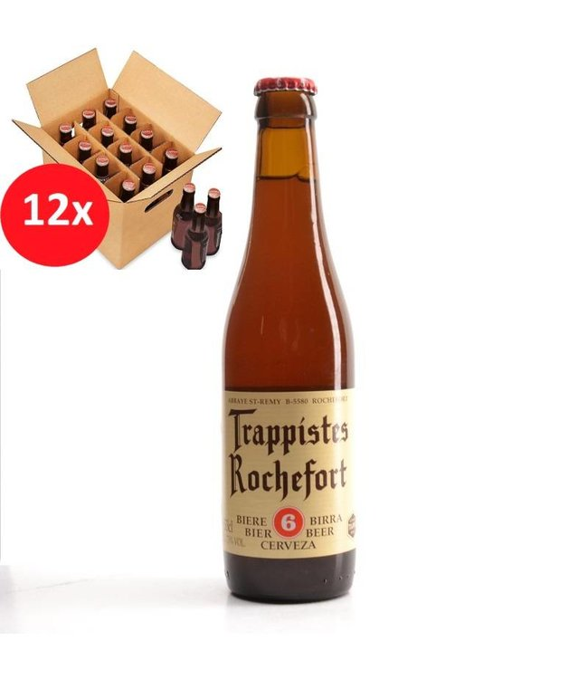 SET VAN 12    l-------l Trappistes Rochefort 6 12 Pack